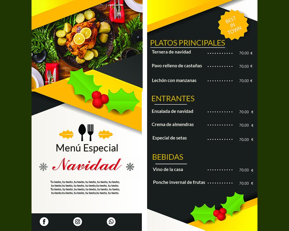 Impresion-menu-restaurante